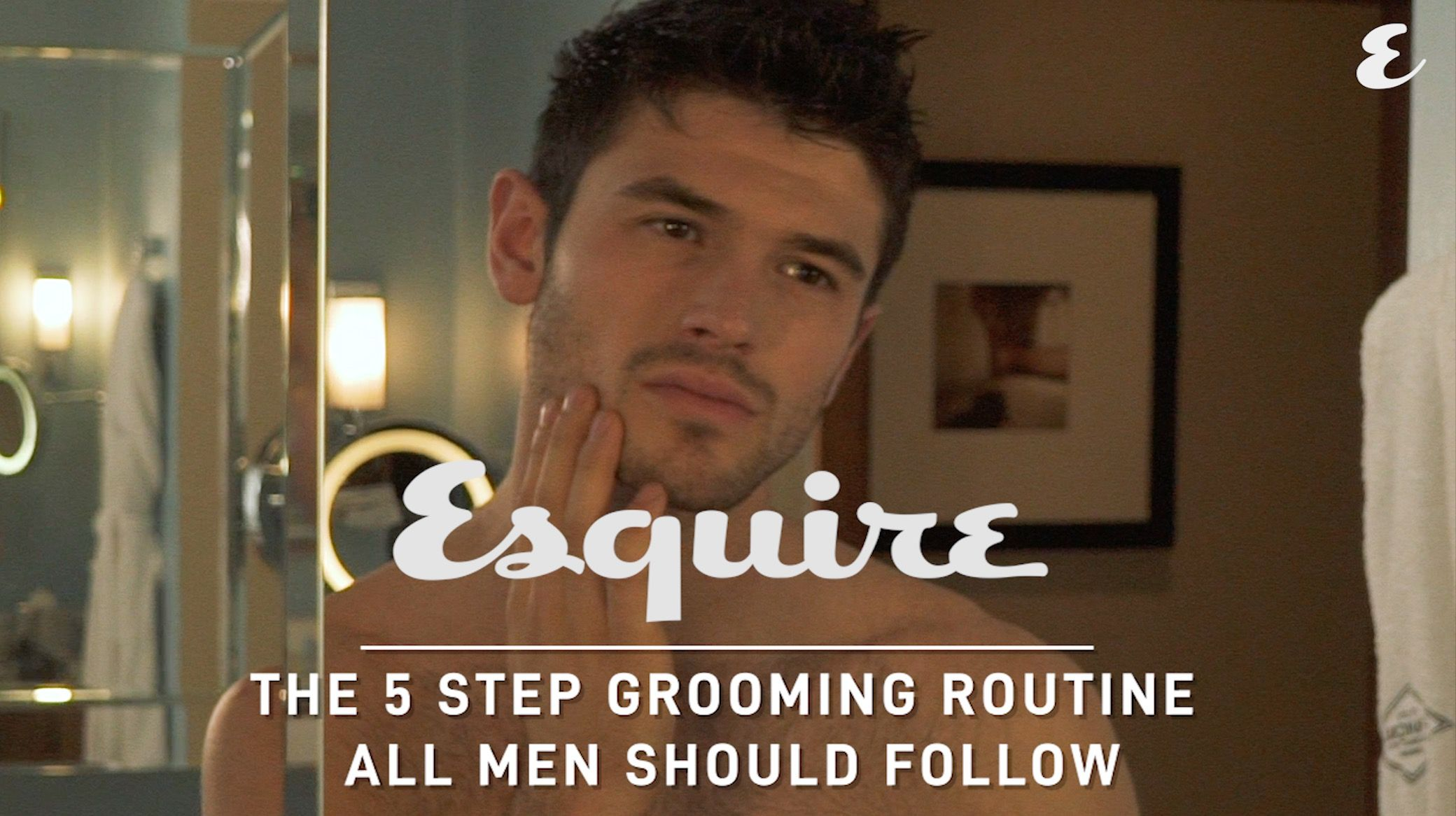 The 5-Step Grooming Routine All Men Should Follow