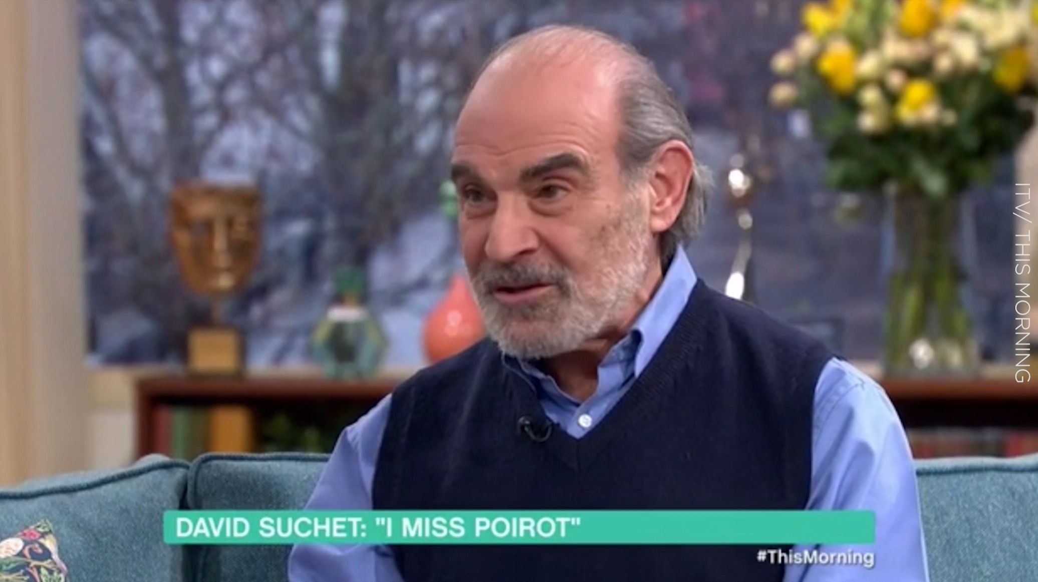 "David Suchet says he'd ""love"" to return as Poirot in a movie"