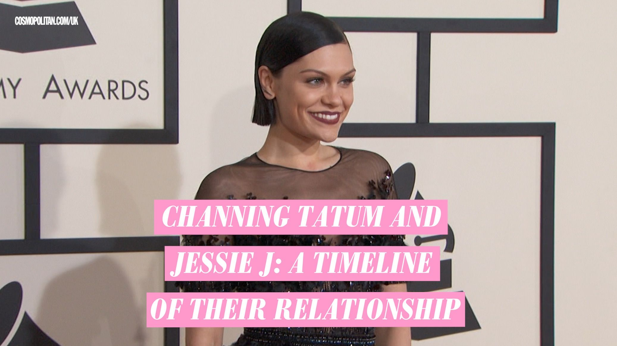 Channing Tatum and Jessie J Just Made Their Red Carpet Debut as a Couple