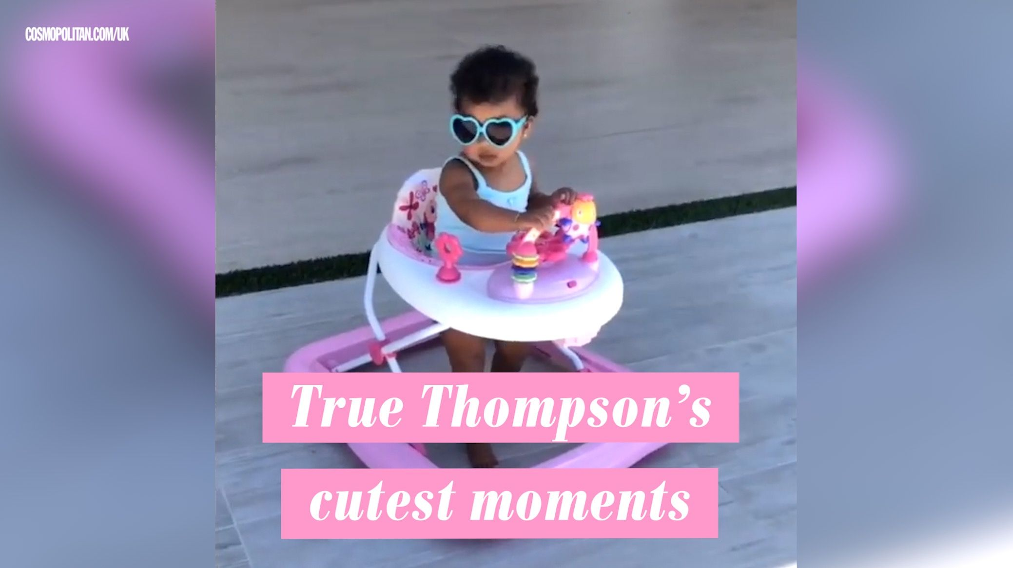 "Kylie Jenner's video of Stormi applying lipstick and saying she's ""happy"" is so precious"