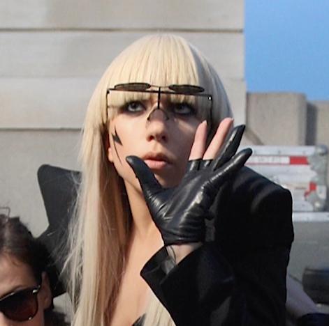 Lady Gaga Dons Sexy All-Black Athleisure for a Coffee Run with Boyfriend Michael Polansky
