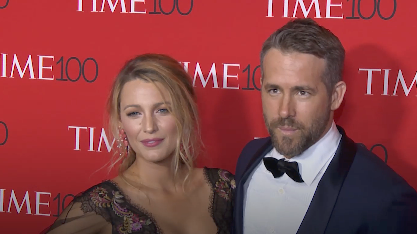 Ryan Reynolds And Blake Lively Just Shared The First Photo Of Their New Baby On Twitter