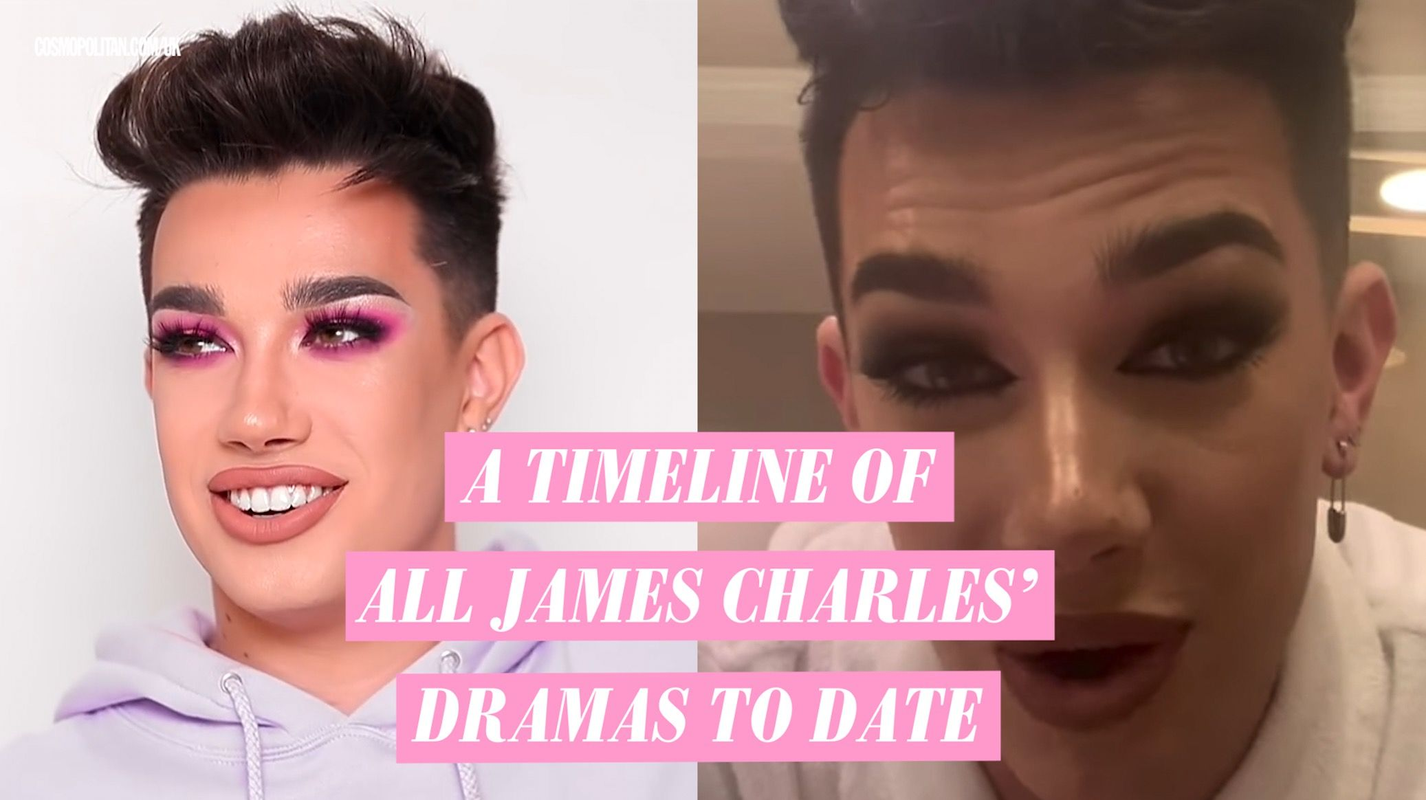 James Charles claps back at claims that Kylie Jenner 'unfollowed' him