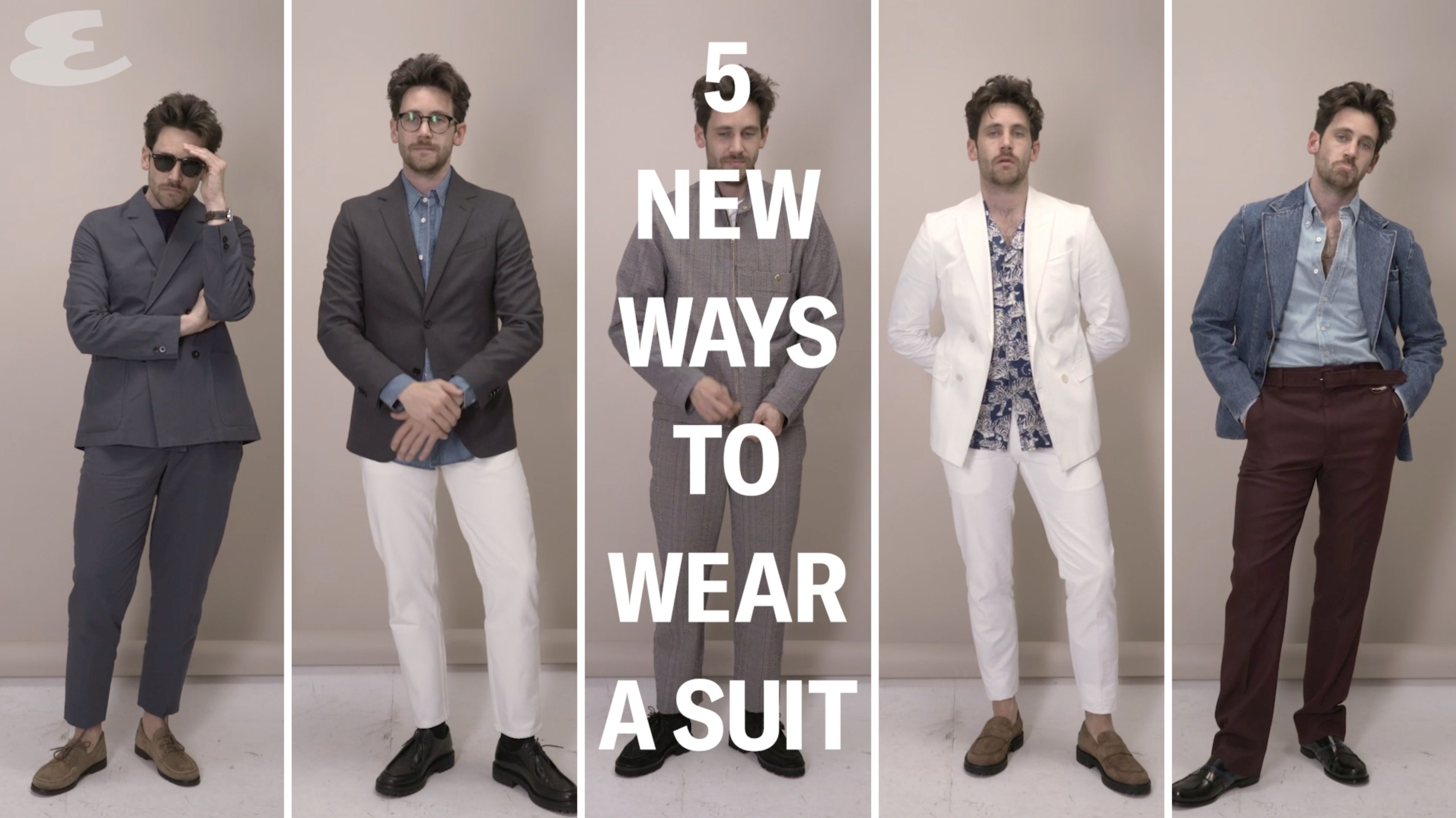 5 New Ways To Wear A Suit This Summer