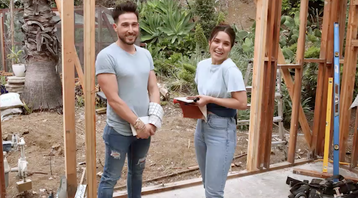 Sophia Bush Gives Us a Tour of the Renovation of Her 1950s Los Angeles Bungalow