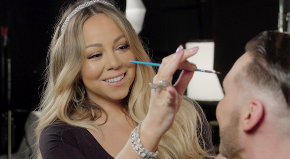 Watch Mariah Carey Give Her MUA a Dramatic Makeover