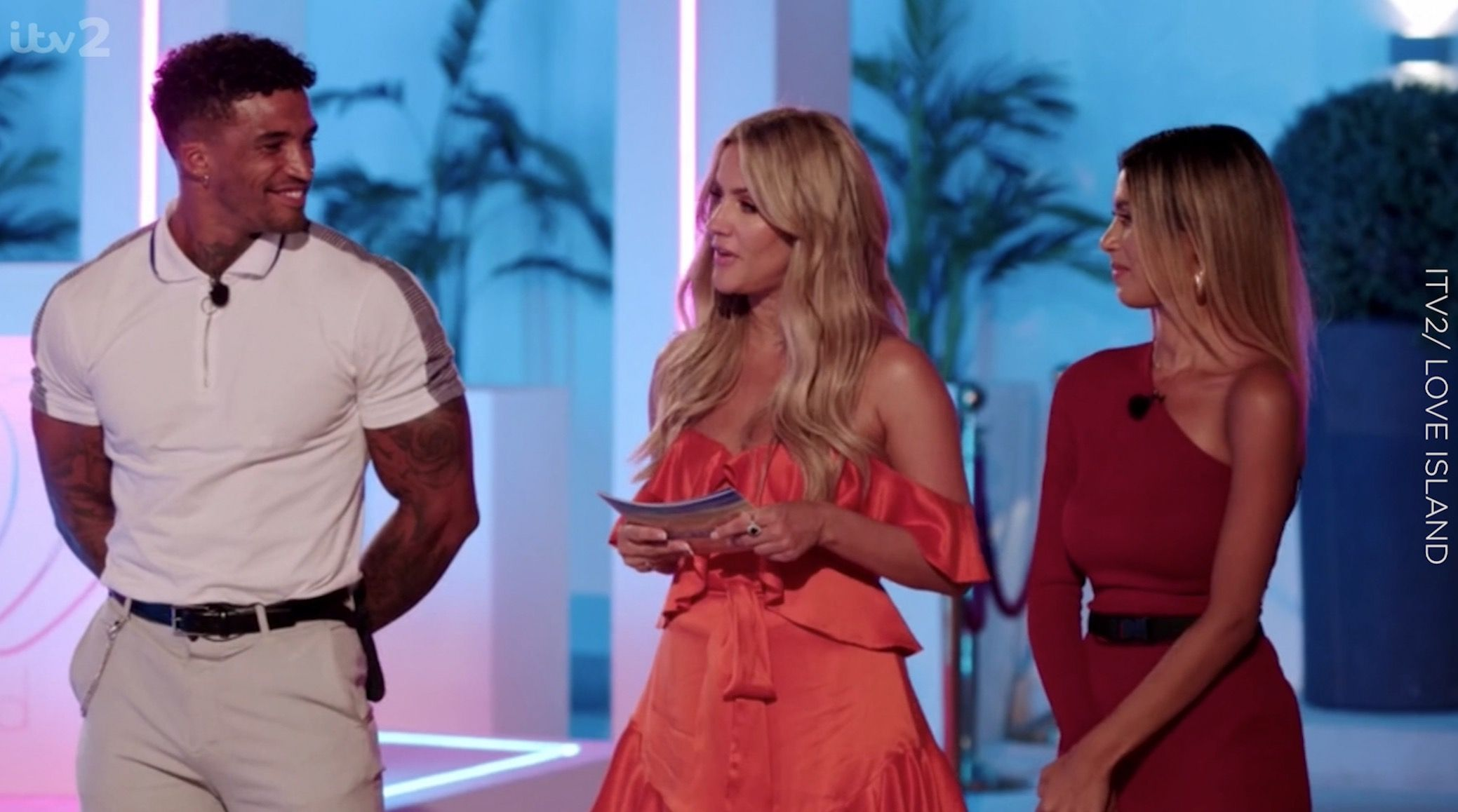 The surprising way Love Island's Joanna would react to Michael and Amber getting back together