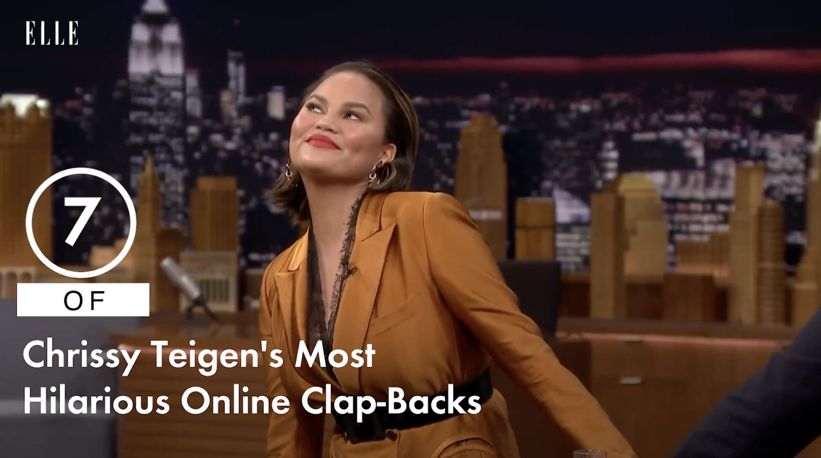 A Braless Chrissy Teigen Just Clapped Back At Instagram Trolls Telling Her She Needs One