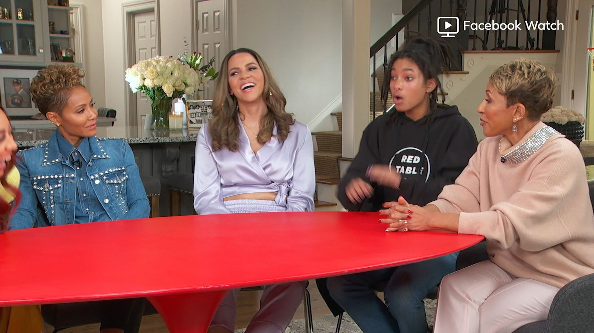 """Jada Pinkett Smith on Meghan Markle for Red Table Talk: """"It's not the right time for her to tell her story"""""""