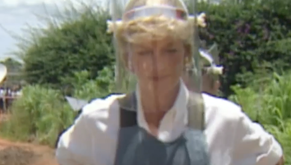 "Princess Diana's Iconic ""Travolta"" Dress Goes to the Historic Royal Palaces"