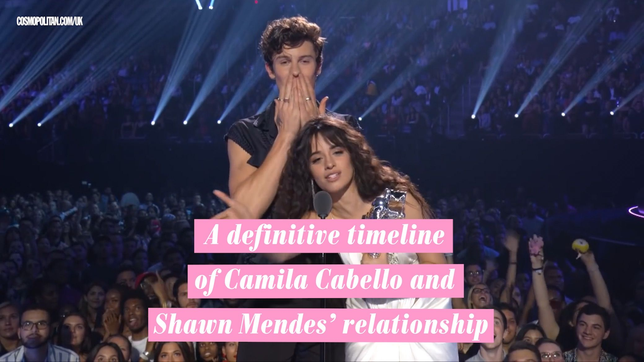 Camila Cabello and Shawn Mendes relationship timeline