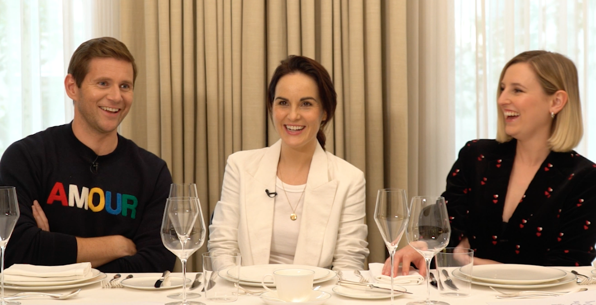 Tables Manners with the cast of Downton Abbey