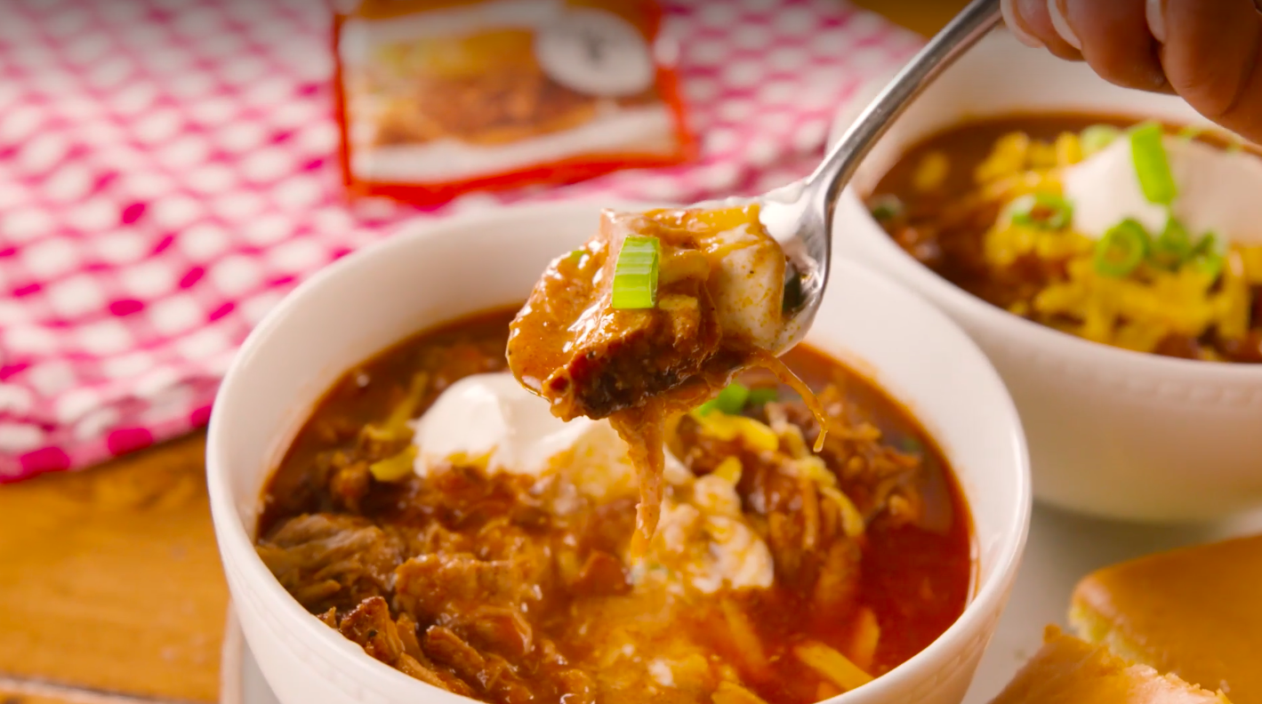 Pulled Pork Chili Recipe How To Make Pulled Pork Chili