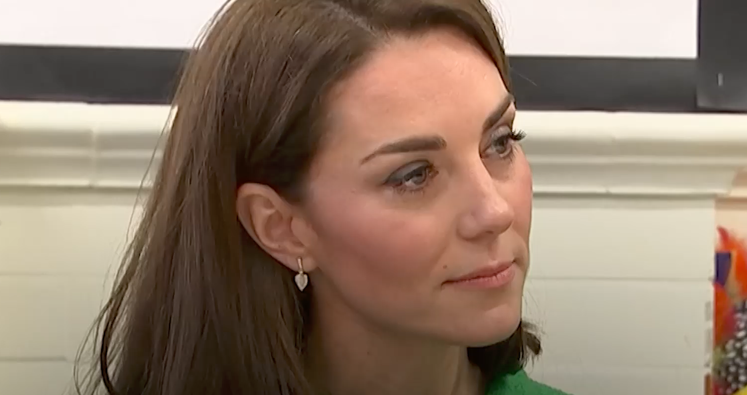 Kate Middleton Tripped in Public and Giggled About It with Prince William