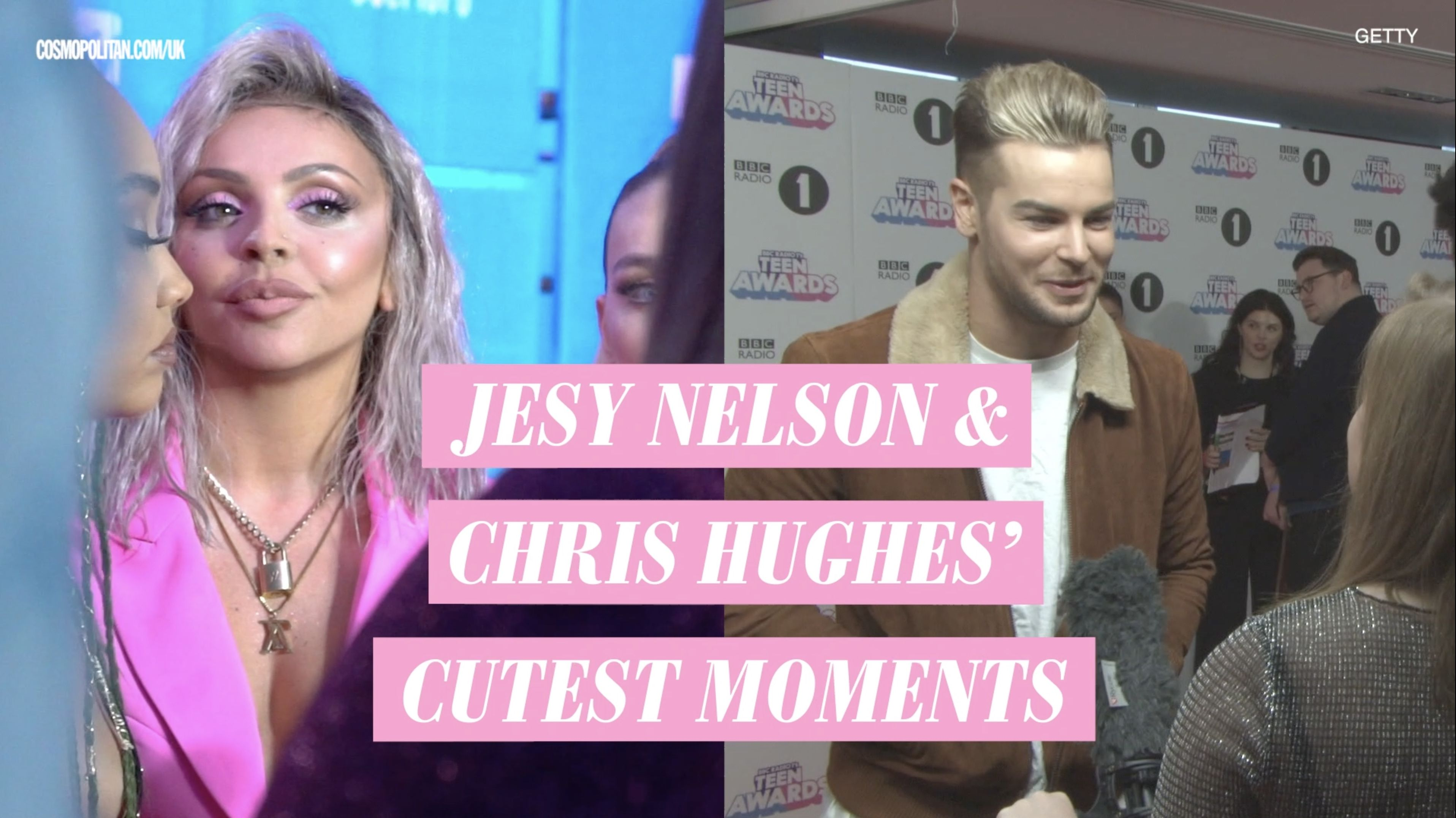Jesy Nelson and Chris Hughes have split up