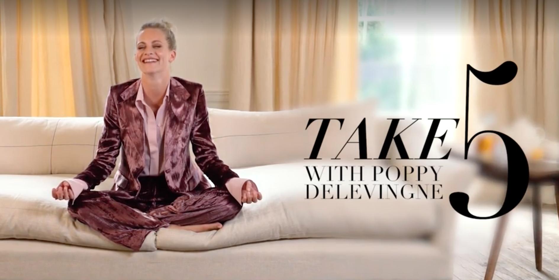 Take 5 with Poppy Delevingne