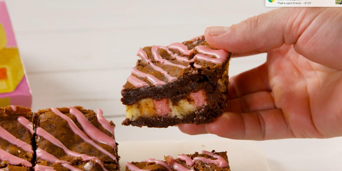 Battenberg Brownies