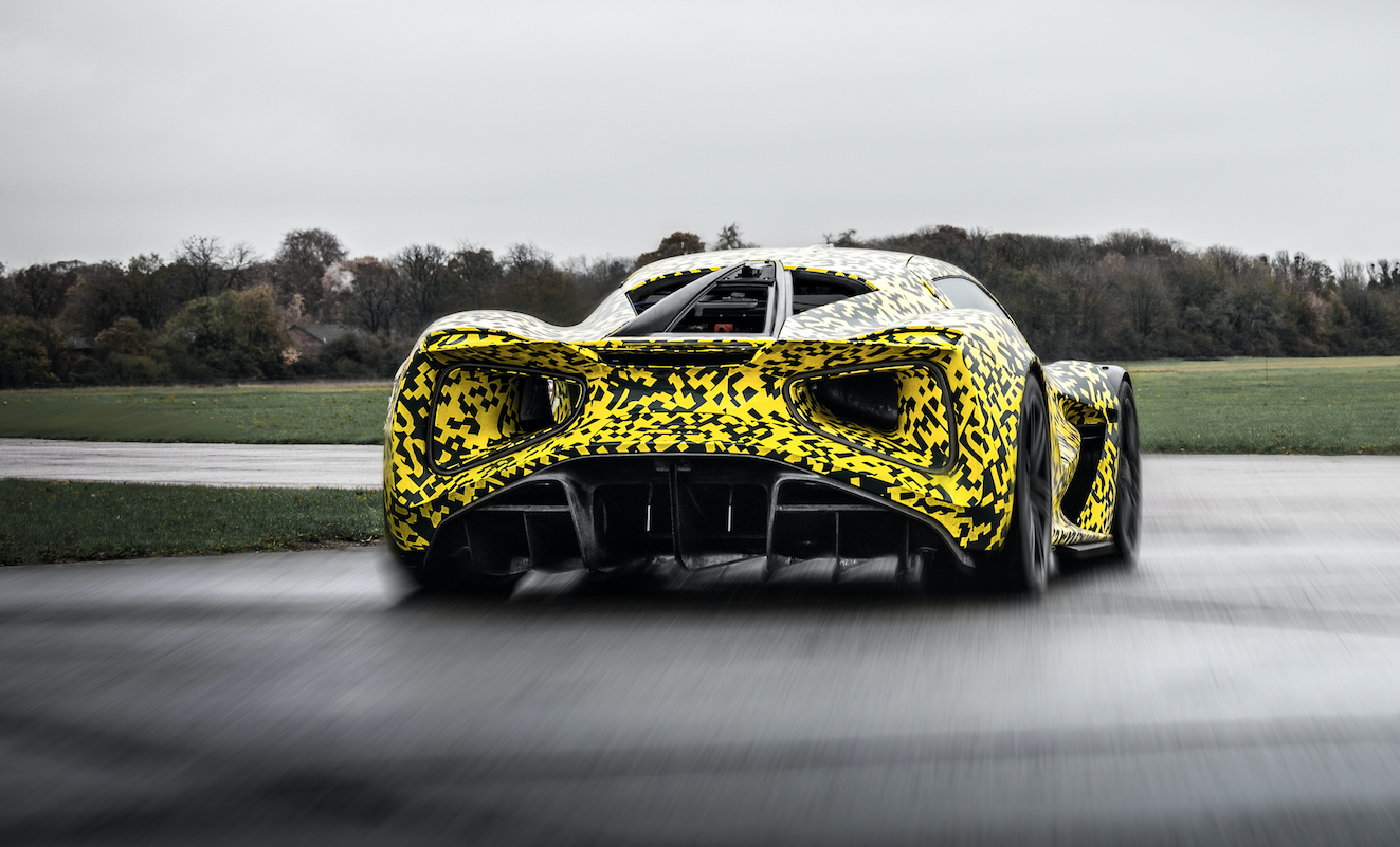 Watch the 2000-HP Lotus Evija Electric Hypercar on the Move for the First Time