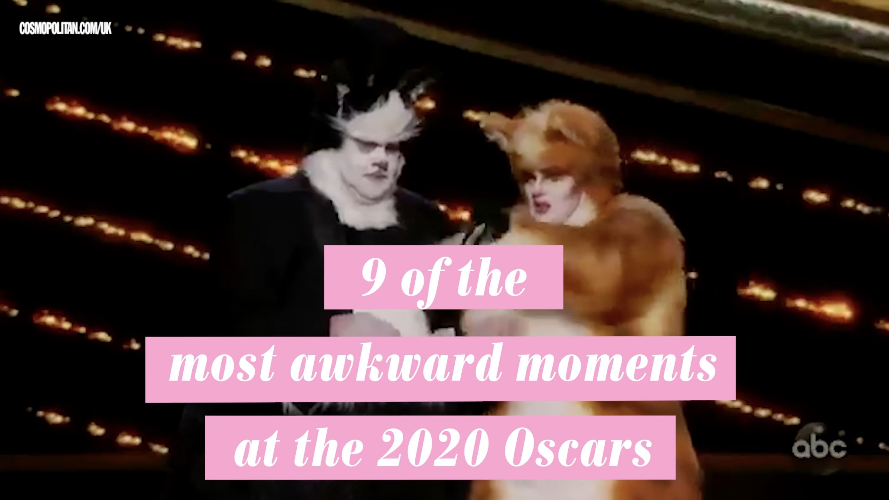 The best behind the scenes moments from the 2020 Oscars