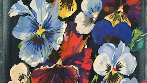 preview for Watch How Helen Dealtry Paints Flowers