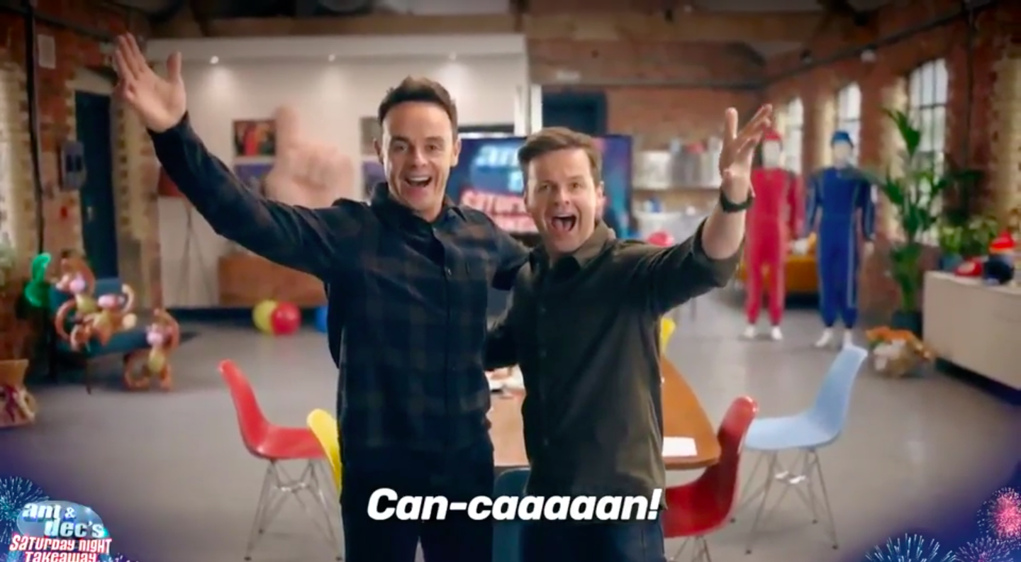 Ant & Dec's Saturday Night Takeaway confirms return with first-look trailer for 2020 series
