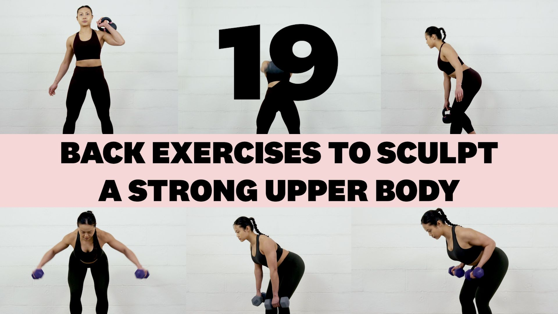 19 Best Back Exercises to Sculpt a Strong Upper Body