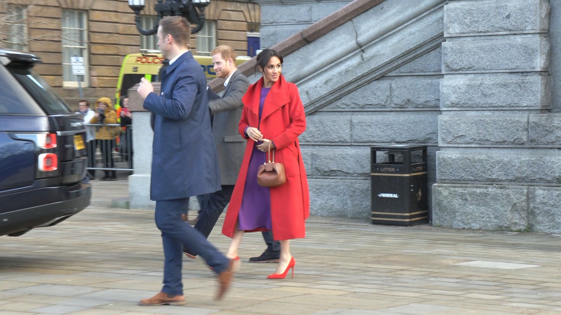 Was Meghan's colour-clashing outfit a subtle tribute to Princess Diana?