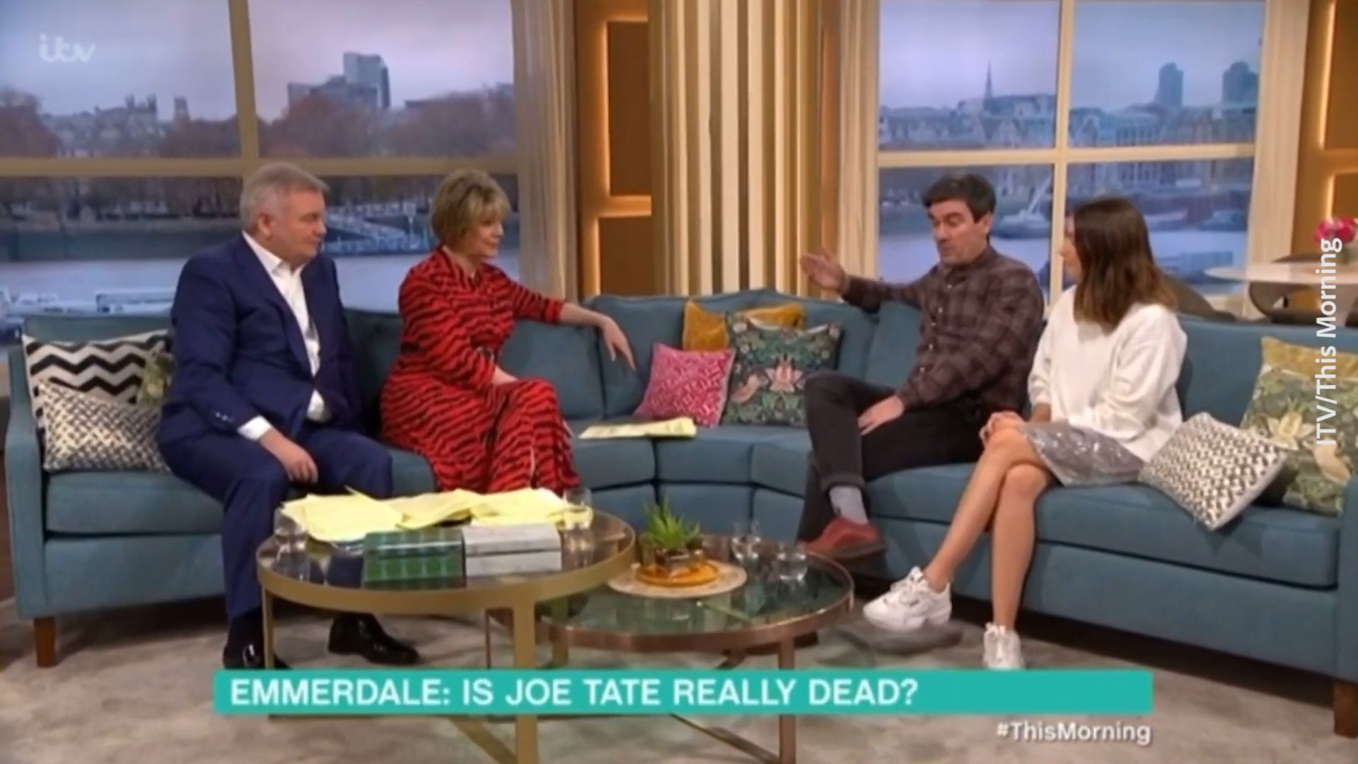 Emmerdale star Jeff Hordley pours cold water on possible Joe Tate return