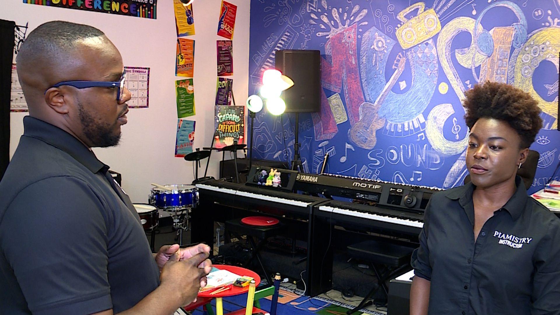 Birmingham firefighter teaches music when not answering emergency calls