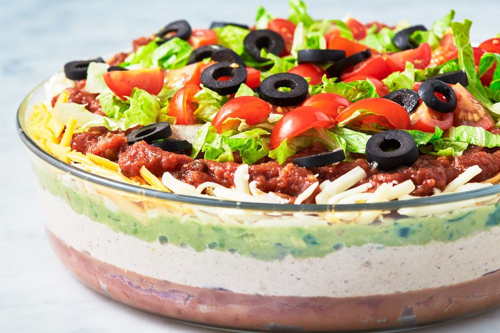 Best-Ever 7 Layer Dip