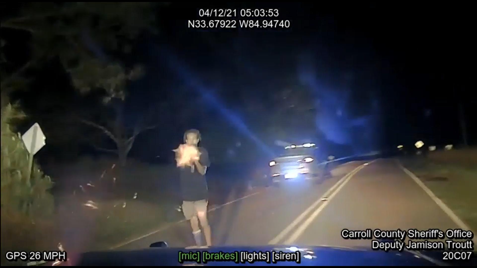 Dashcam: Deadly police shootout in Carroll County