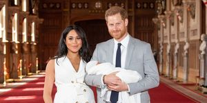 meghan markle and prince harry - first baby photos