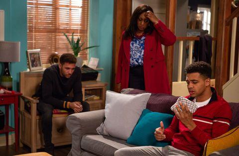 Jessie Grant is torn between her warring sons Billy Fletcher and Ellis Chapman in Emmerdale
