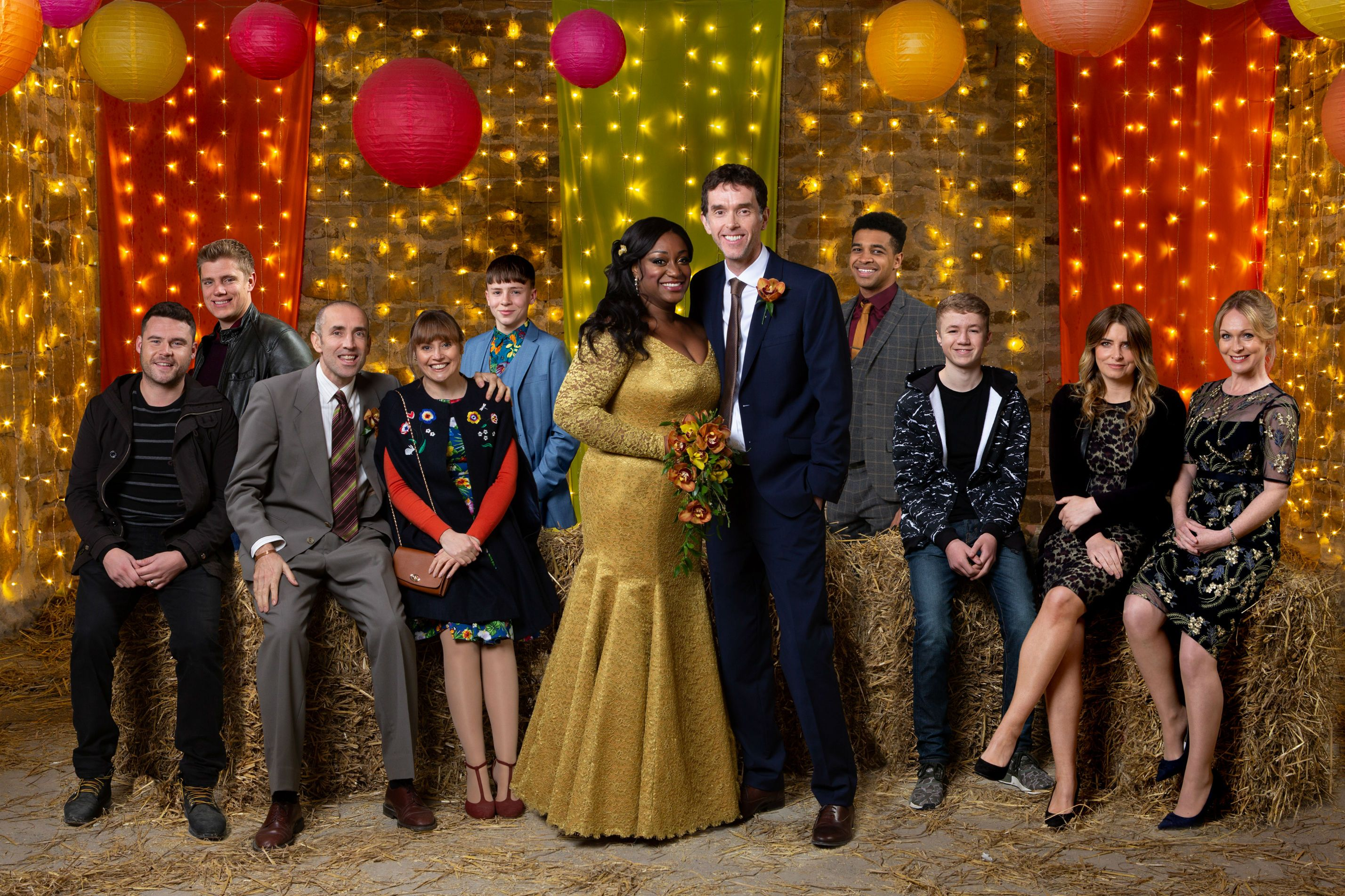 Jessie Grant and Marlon Dingle take centre stage in Emmerdale's Christmas episodes