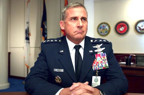 steve carell in space force on neftlix