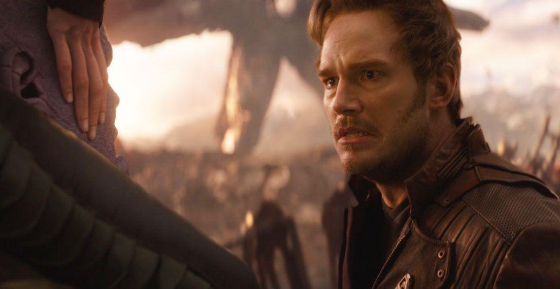 """Star-Lord (Chris Pratt) in """"Avengres: Endgame"""""""
