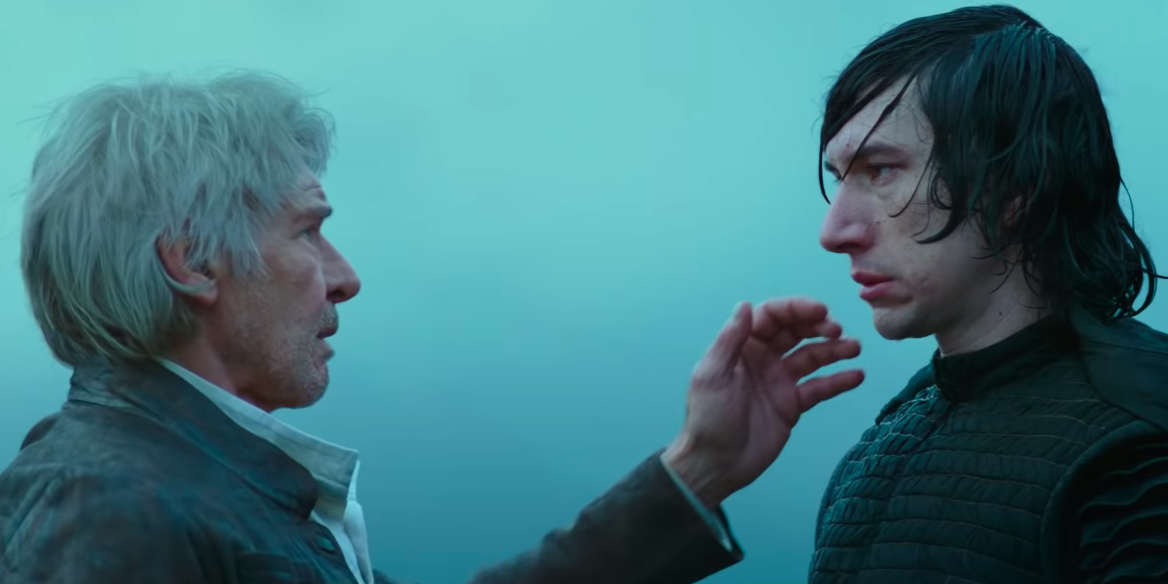 Star Wars' Adam Driver shares Han Solo and Leia parenting theory - Flipboard