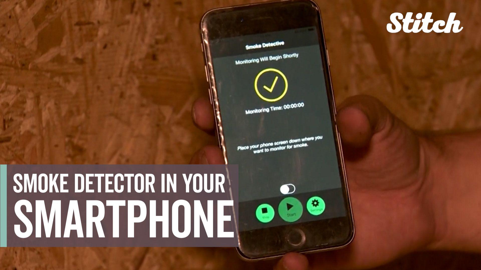 Coding team develops app to turn smartphones into smoke detectors