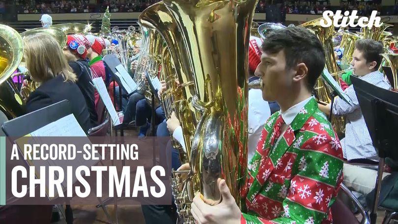 Tuba Christmas 2021 Baltimore Symphony S Tuba Christmas Attempts To Break Guinness World Record