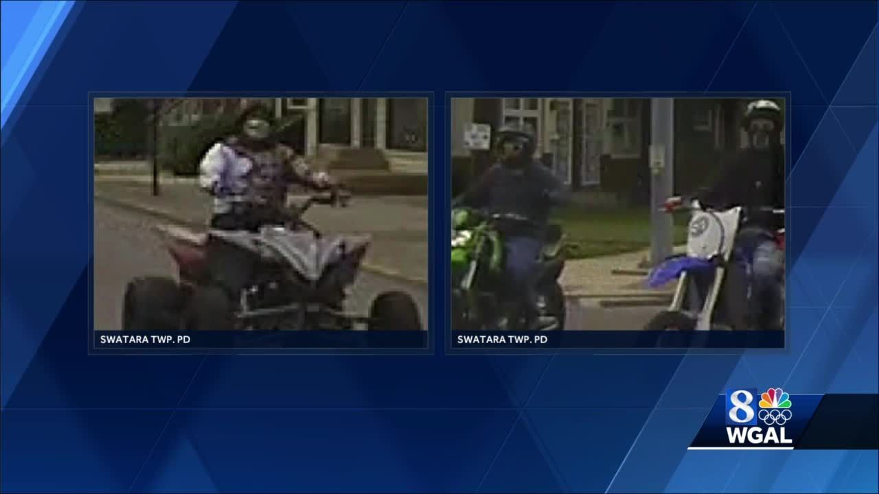 Police in Dauphin County want to identify dirt bike, ATV riders