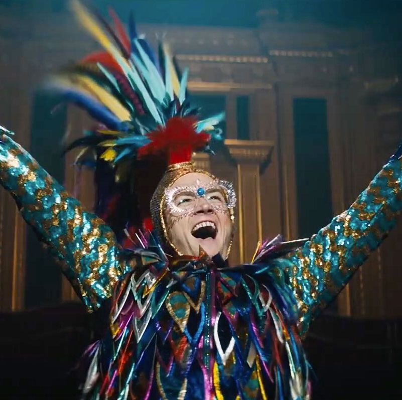 Taron Egerton responds to comparisons between Rocketman and Bohemian Rhapsody