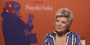 Terelu Campos, Bárbara Valiente, Paquita Salas, terelu actriz, tercera temporada Paquita salas, Serie Netflix