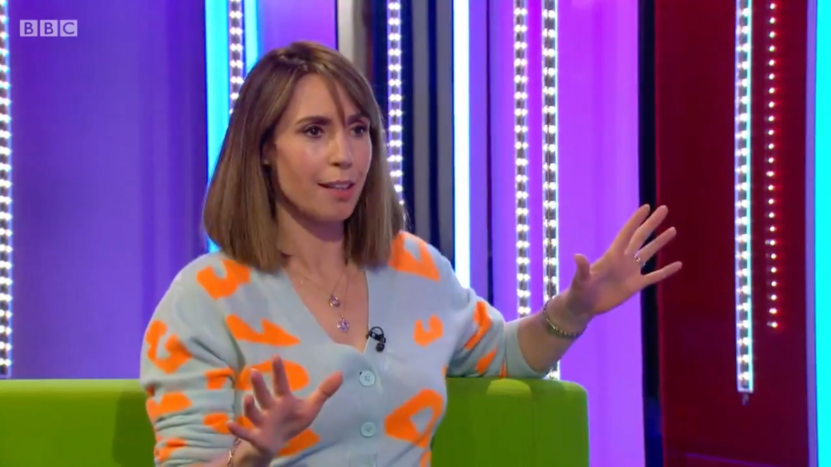 The One Show star admits confusion at Strictly stars' 'baby' news