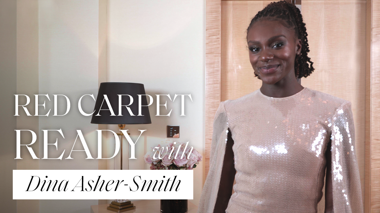 Dina Asher Smith Gets Red Carpet Ready With ELLE For The Fashion Awards 2019