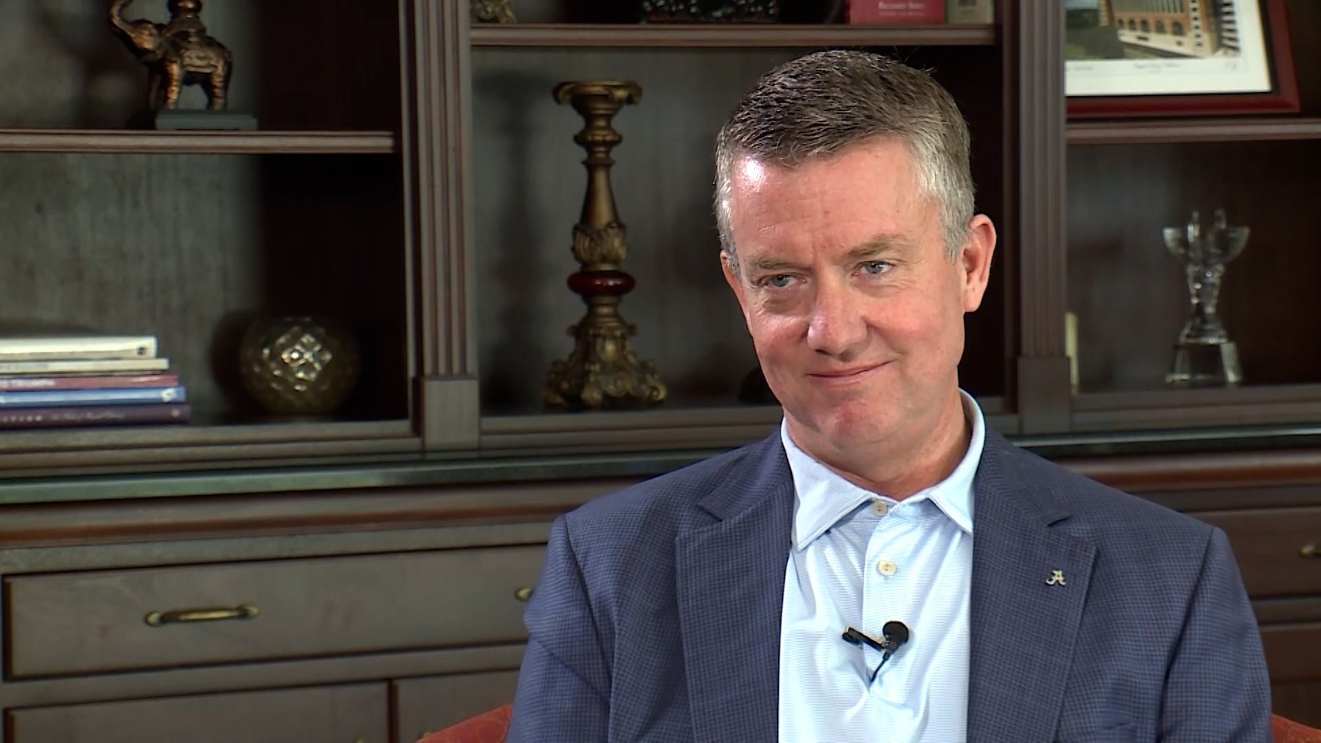 Extended interview with Alabama AD Greg Byrne
