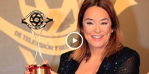 Toñi Moreno, presentadora, Premio IRIS 2019, embarazo famosa, Boris Izaguirre, Nagore Robles