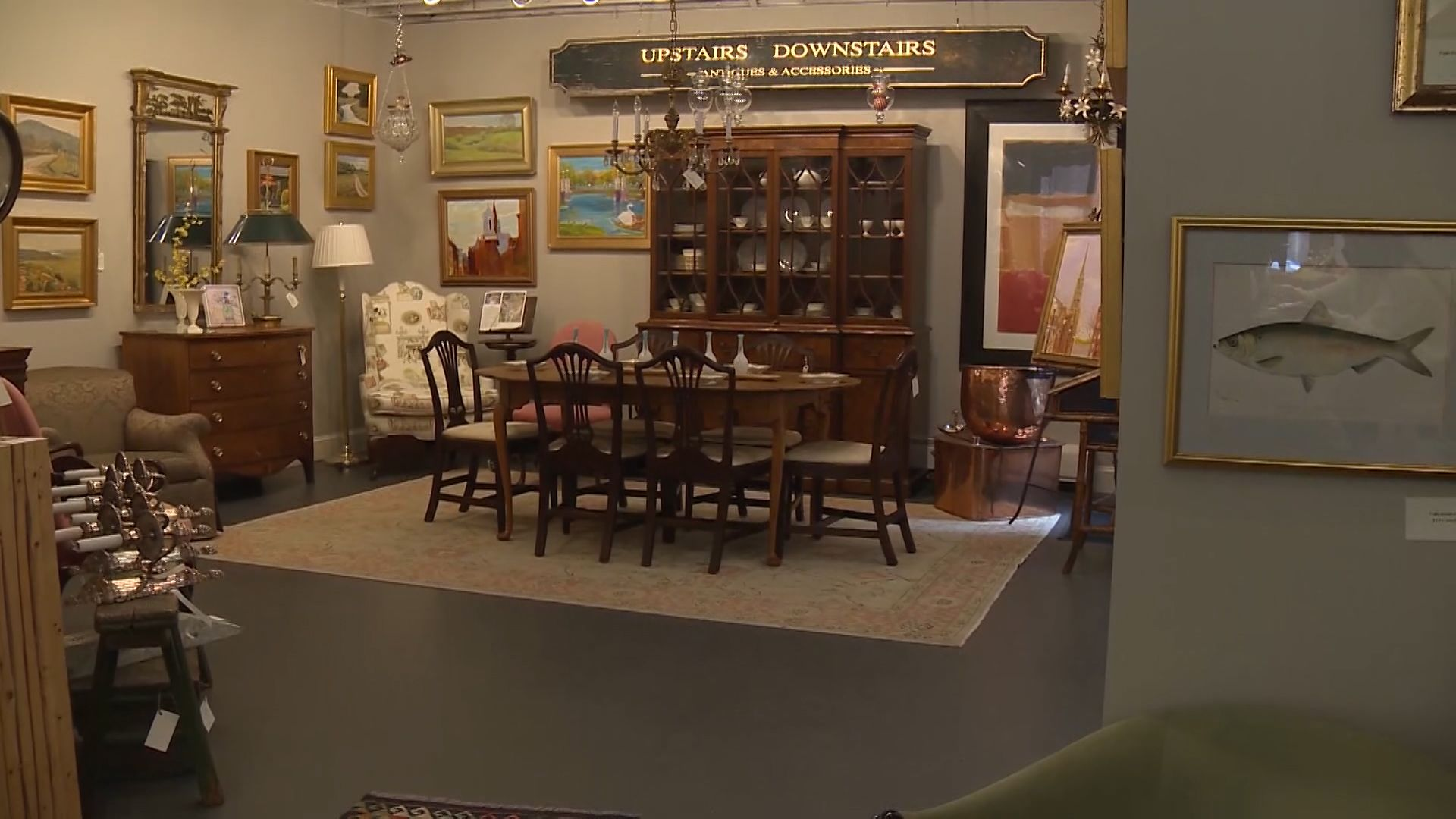 Boston antiques store able to survive hardships of pandemic