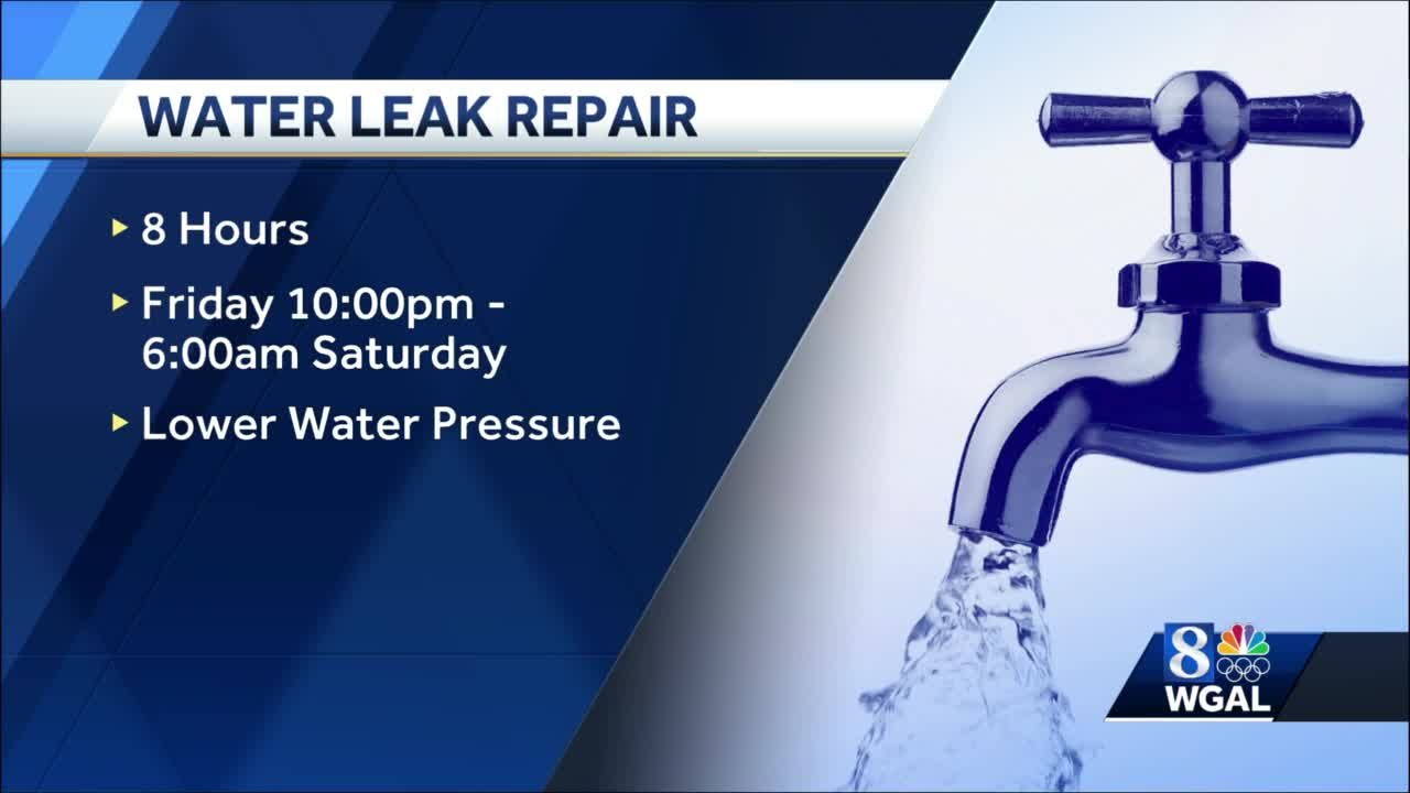 City of Lancaster water customers asked to limit water use overnight Friday