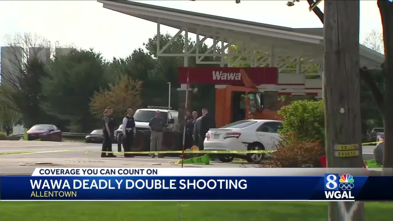 Two dead, including suspect, after shooting at Wawa outside Allentown