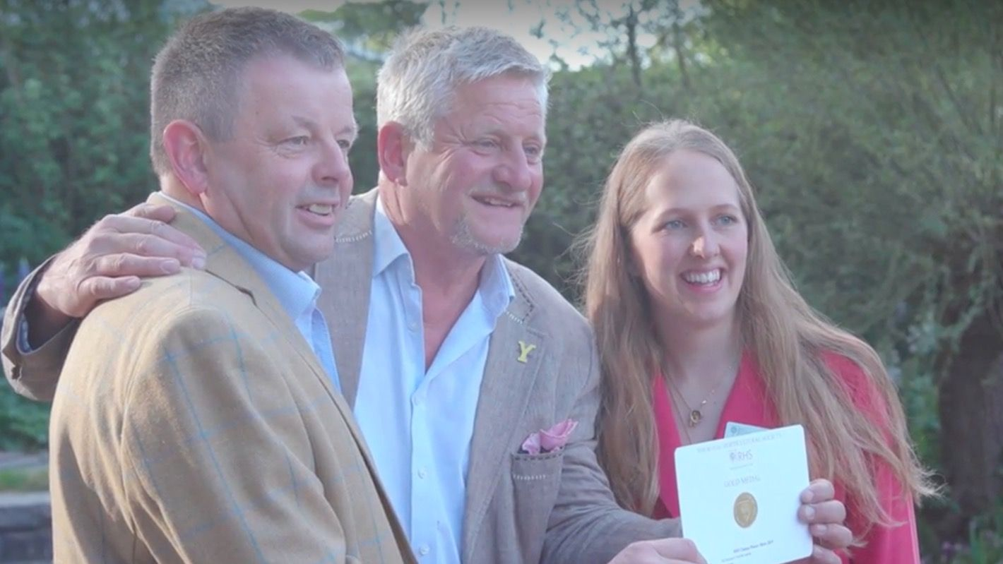 Chelsea Flower Show: 'I couldn't be happier,' says Welcome to Yorkshire designer Mark Gregory